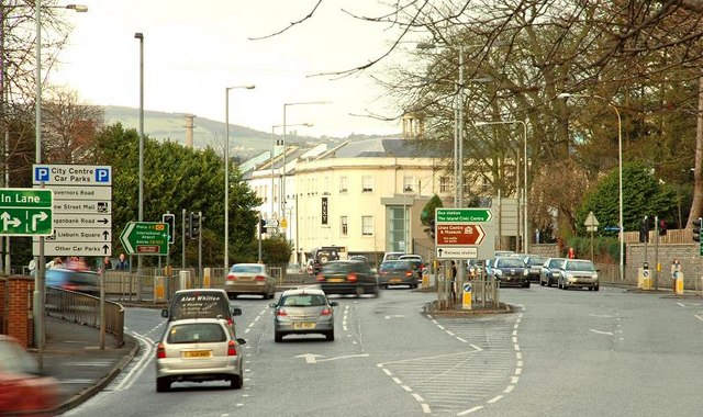 The Hillsborough Road Lisburn Albert Bridge Cc By Sa 2 0 Geograph Ireland