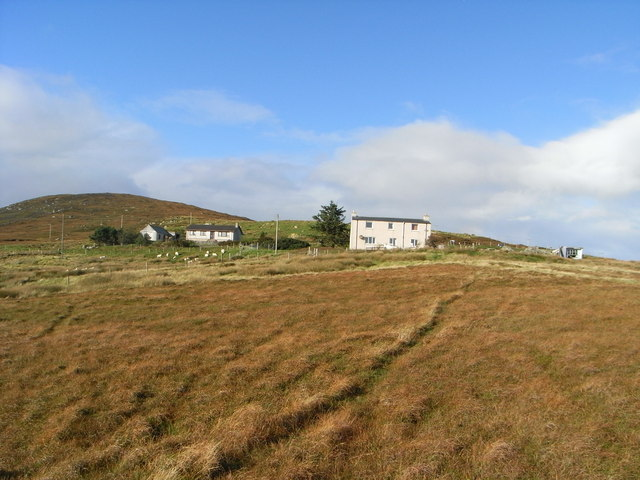 Rowan Cottage with Blashaval behind