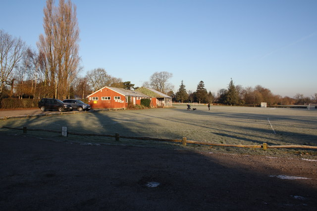 Ditchling Recreation Ground and pavilion