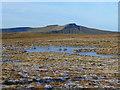 SO0620 : Frozen pond on Waun Rydd 2 by Jonathan Billinger