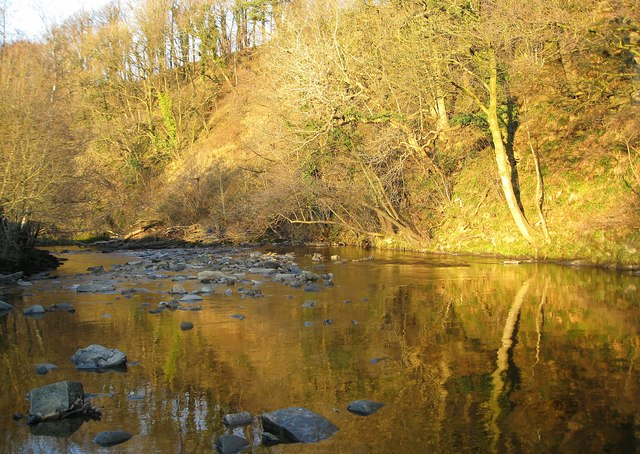 Reflections on the River Hindburn