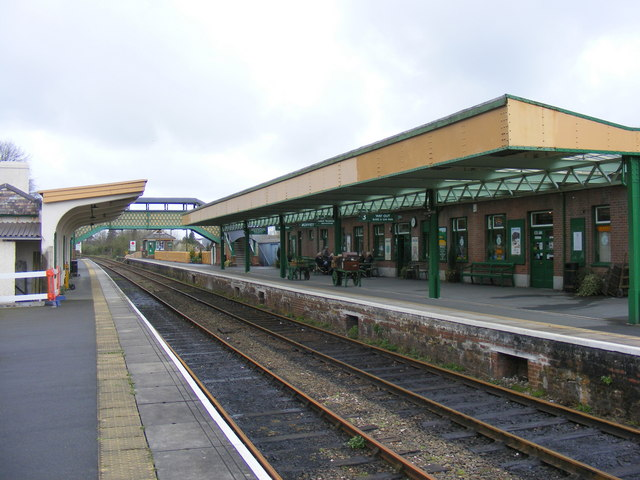 Okehampton Station Platform 1.