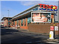 SP0790 : New Tesco store, Aston Lane. by Roy Hughes