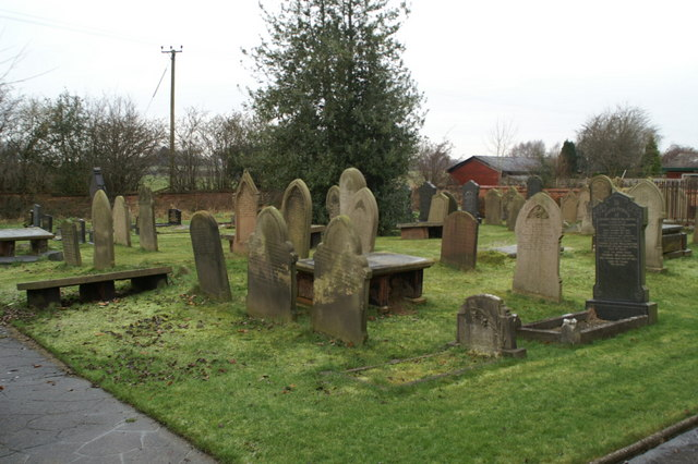 Graveyard, Little Leigh Baptist Church