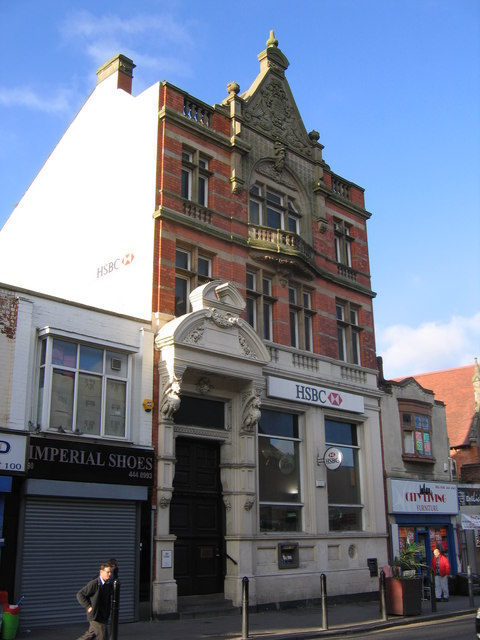 Midland Bank / HSBC Kings Heath. Sorting code 40-11-15