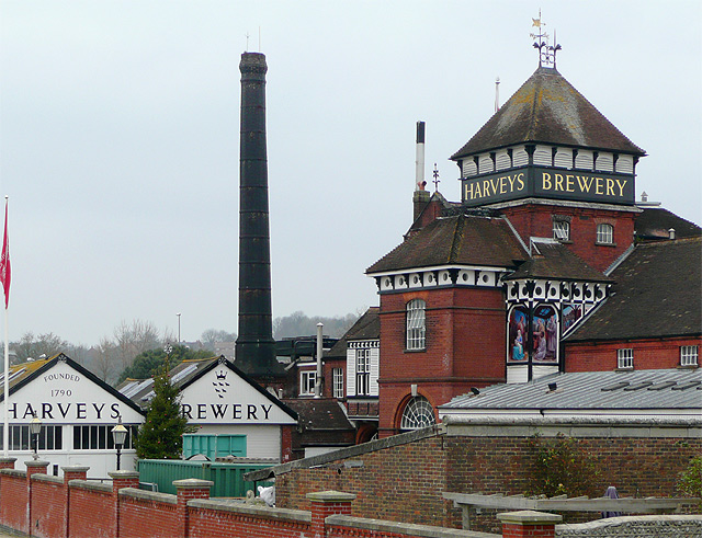 Harveys Brewery, Lewes, East Sussex