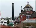 TQ4110 : Harveys Brewery, Lewes, East Sussex by Roger  Kidd