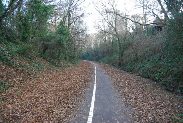 The old Exmouth to Budleigh Salterton Railway (2)