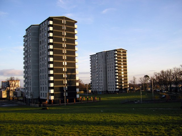 Gracemount tower blocks