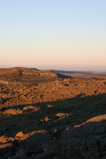 Manod Mawr - summit plateau
