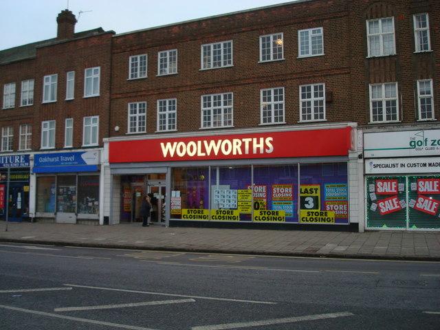 Woolworths, Blackfen