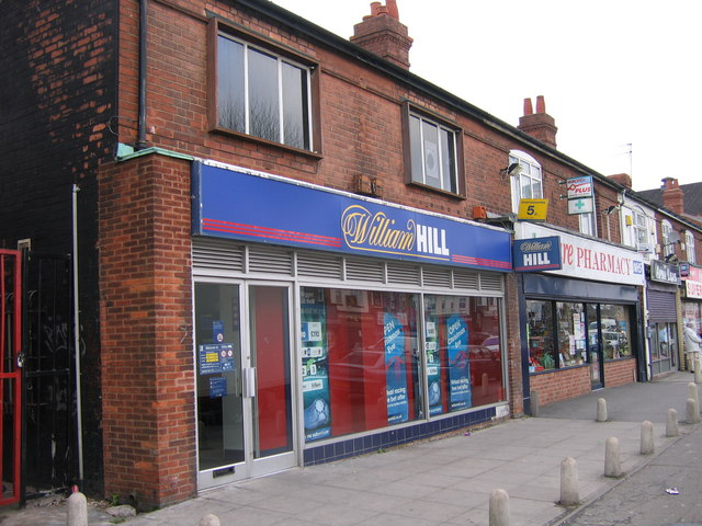 Midland Bank Ward End, Now William Hill. Sorting code 40-11-35