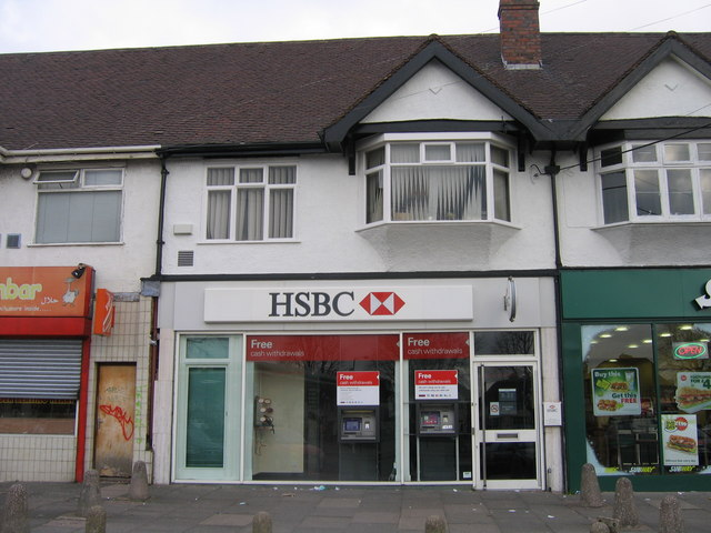 Midland Bank / HSBC Washwood Heath Road. Sorting code 40-11=37
