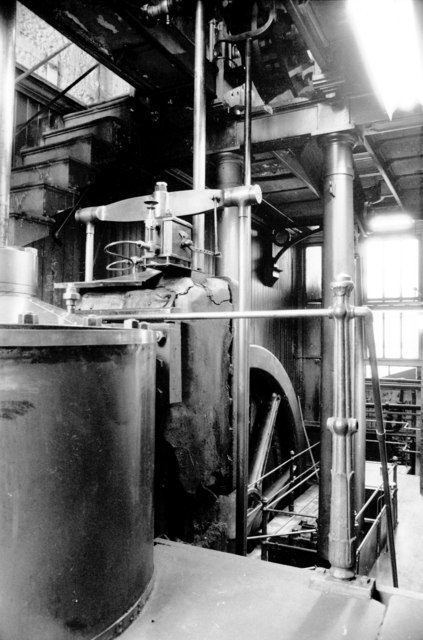 Beam engine, Ledgard Bridge Mills