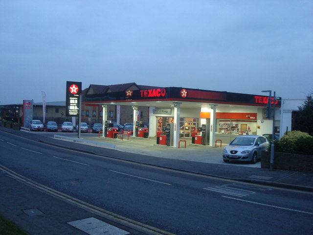 Car Dealer / Petrol Station, Main Road, Sidcup, Kent