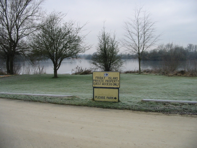 Friday Island Cotswold Water Park