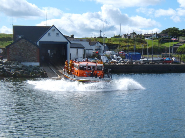 Launch of the Wicklow Lifeboat