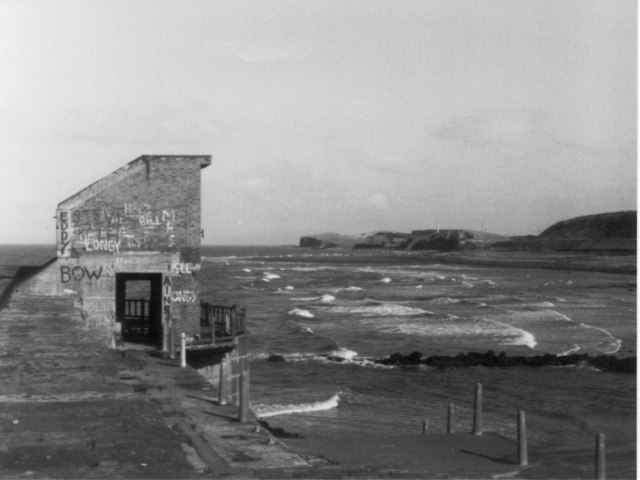 Old building on Harrington Harbour