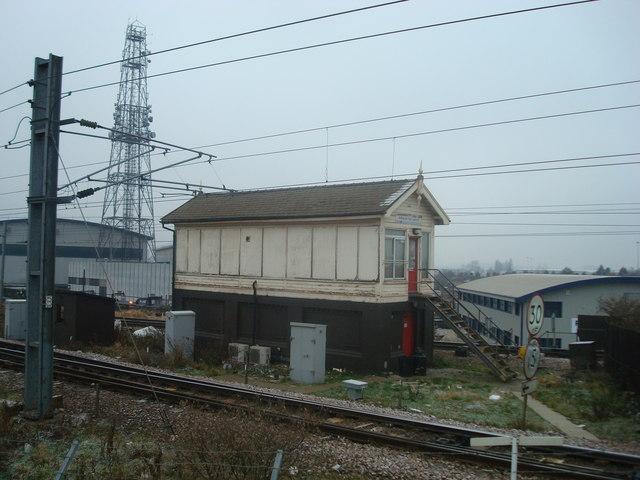 Willesden Junction High Level Signal Box 169 Stacey Harris
