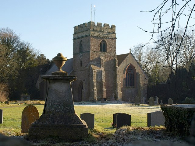 St Mary's church, Bromfield