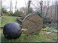 H0239 : Sculpture, Glenfarne Forest by Kenneth  Allen