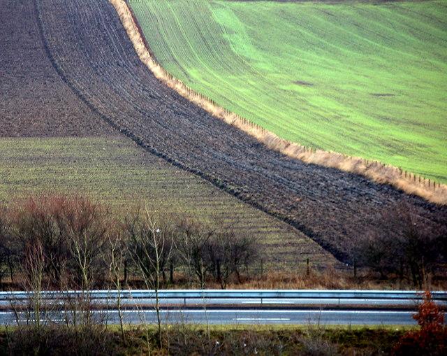 Farmland near Cowdenbeath