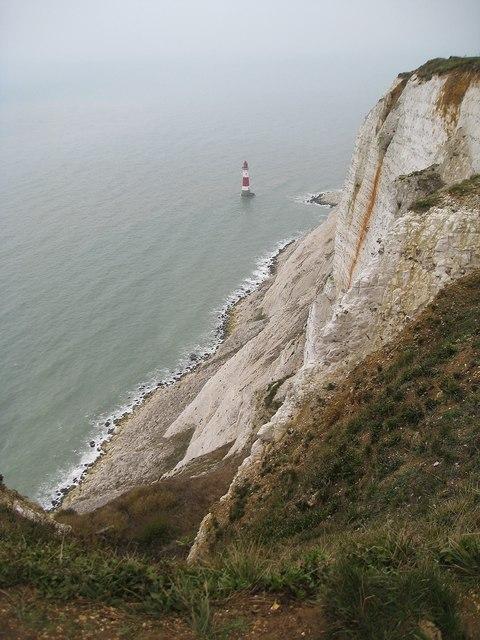 The lighthouse at Beachy Head