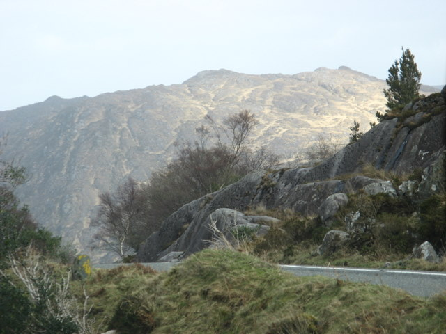 The road towards Killarney shortly before Ladies' View