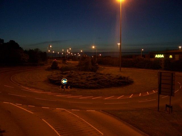 Bournemouth : Wessex Way Roundabout & ASDA