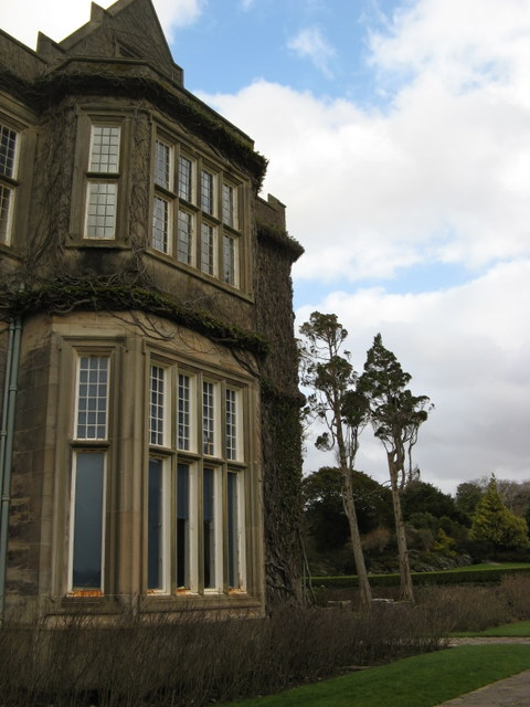 Part of Muckross House facade