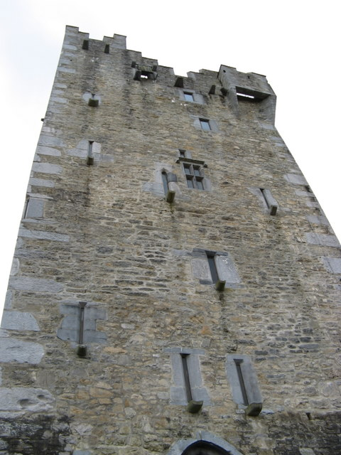 Tower of Ross Castle