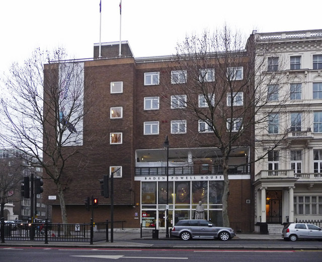 Baden Powell House Queens Gate London 169 Christine