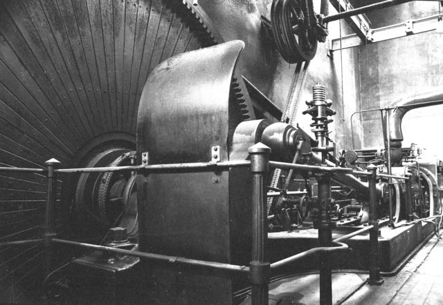 Steam engine, Syke Mills, Haslingden