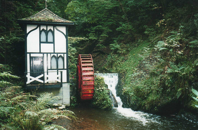 Groudle Glen Waterwheel 169 Trevor Rickard Geograph