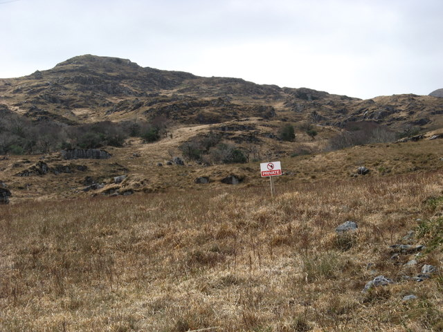 Private land near Knockbrack