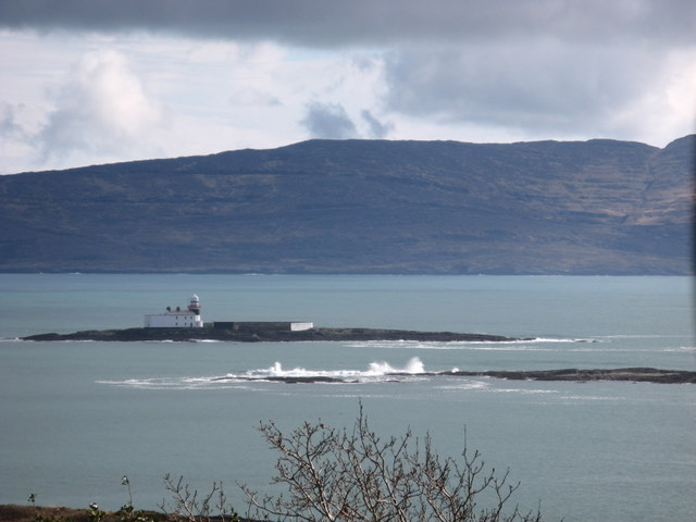 Lighthouse on Roancarrigmore in the Bantry Bay
