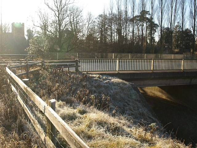 Bridge over the Onny, Bromfield
