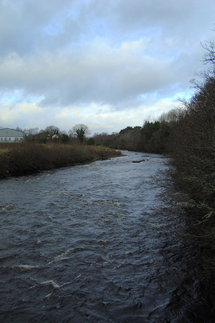 The River Finn at Capry