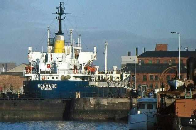 The Hamilton drydock, Belfast (1988)