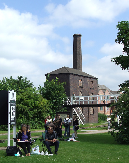 The Engine House at Hawkesbury Junction, Warwickshire