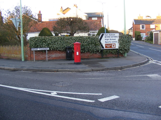 College Road Victorian Postbox