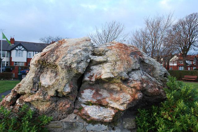 Glacial erratic - Coronation Park, Crosby