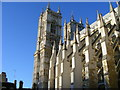 TQ3079 : Westminster Abbey taken from the cloisters by PAUL FARMER