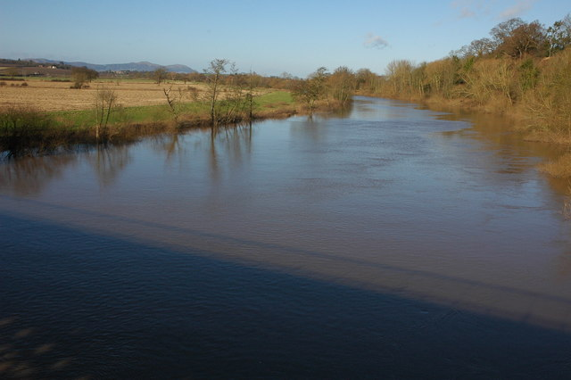 The River Severn from Mythe Bridge