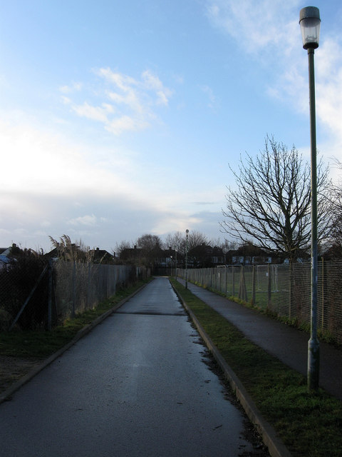 Access Road for Nevill Playing Fields