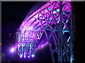 SJ6703 : The famous Iron bridge illuminated by Jon Griffiths