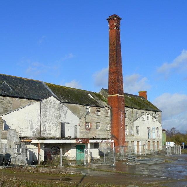 Google Maps Business >> Abandoned textile mill, Glastonbury © Jonathan Billinger :: Geograph Britain and Ireland