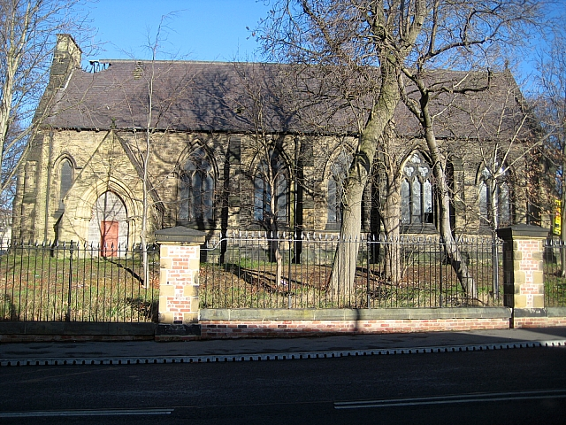 St Faith's church of the former Stanley Royd hospital