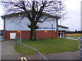 TM2145 : Kesgrave Sports Centre by Adrian Cable