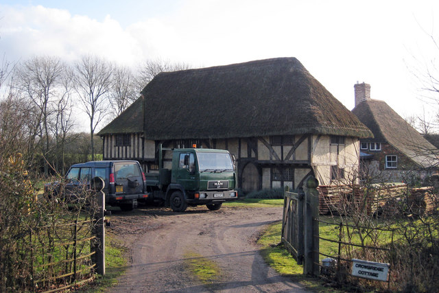Wealden Hall House at Crowbridge Cottage, Romden Road, Smarden, Kent